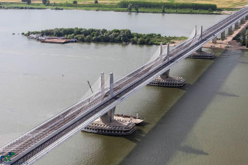 The complex work of infrastructure in the past 27 years: Pair Astaldi (Italy) - IHI Infratructure Systems (Japan) will build bridge over Danube at Braila for 430 million euros